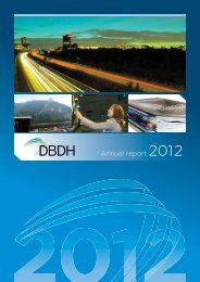 Annual report 2012 - DBDH