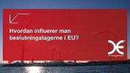 EU-lobbyisme, Ulrich Bang - DBDH