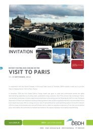 VISIT TO PARIS - Denmark