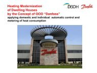 """Danfoss"", heat cost allocators - DBDH"