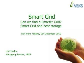 District heating: smart grid and heat storage - DBDH