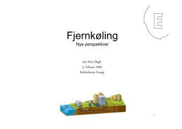 Fjernkøling - nye perspektiver - DBDH
