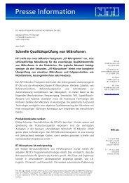 Presse Information - Nti
