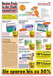 PREIS-TIPP - Ahorn Apotheke Moers