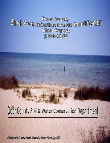 Final Report - Door County Web Map