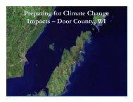 Presentation - Door County Web Map
