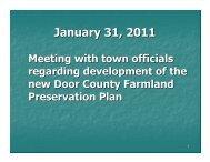 Slide Presentation - January - Door County Web Map