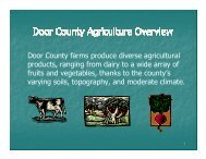 Slide Presentation - Door County Web Map