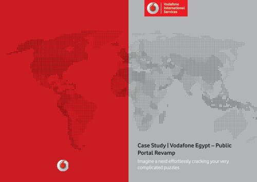 Case Study | Vodafone Egypt – Public Portal Revamp
