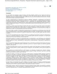 Page 1 of 10 Secretaria de Seguridad Interior - Programas ...