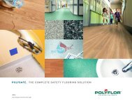 polysafe. the complete safety flooring solution - Specifinder