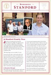 A Stanford Family Tree - Giving to Stanford - Stanford University