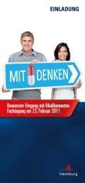 Einladung Mitdenken - Sucht-Hamburg