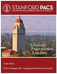 (B) - Engaging the Roma Community - Stanford Center for ...