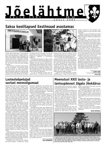 Saksa koolilapsed Eestimaad avastamas - Jõelähtme vald
