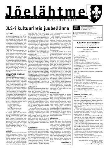 JLS-i kultuurireis juubelilinna - Jõelähtme vald