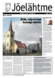 Kirik, mis ei saa kunagi valmis - Jõelähtme vald