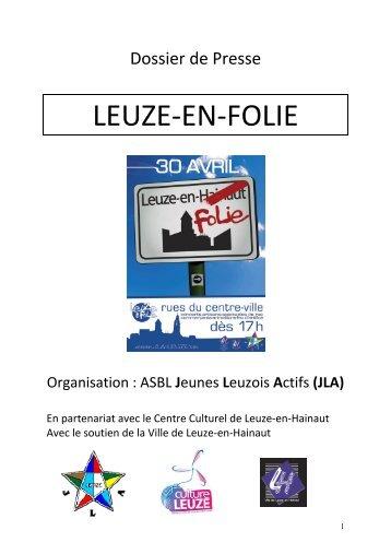 Dossier de presse et programme en téléchargement - JLA