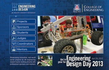 Design Day 2013 Guide Book - College of Engineering - University ...