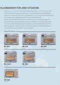 Panasonic Power Profis Professionelle Mikrowellengeräte - Seite 3