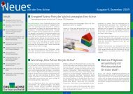 Ausgabe Dezember 2009 - Ems-Achse