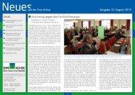 Ausgabe August 2010 - Ems-Achse