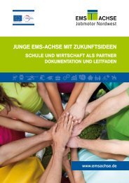 Junge Ems-Achse mit Zukunftsideen - Schule und Wirtschaft als ...