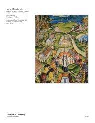 Jock Macdonald - 75 Years of Collecting - Vancouver Art Gallery