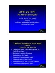 Hands on Deck! - Graduate School of Public Health
