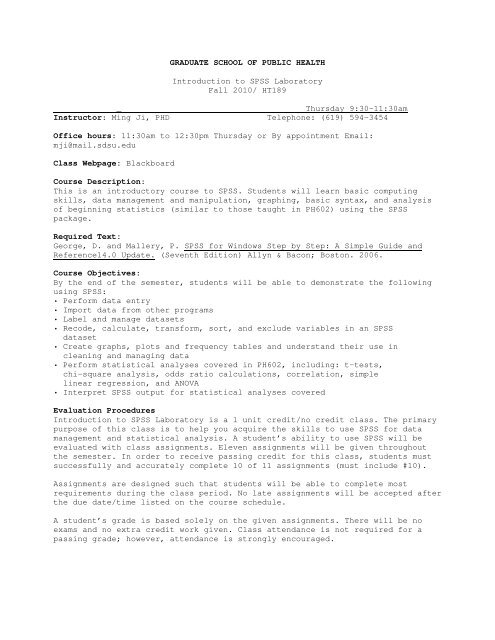 PH 798-Ji-f10 pdf - Graduate School of Public Health - SDSU