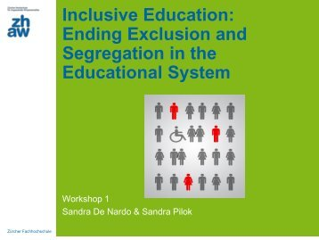 Inclusive Education: Ending Exclusion and ... - social-europe
