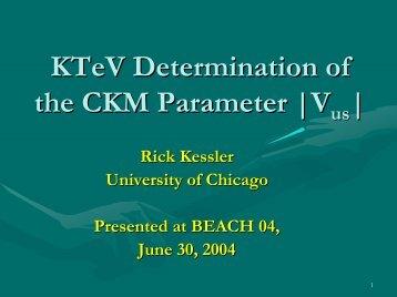 R. Kessler - Capp.iit.edu