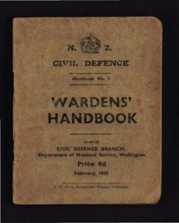 Wardens' Handbook - Christchurch City Libraries