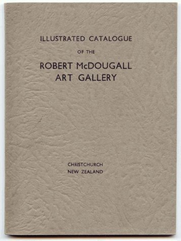 Illustrated catalogue of the Robert Mcdougall Art Gallery 1931