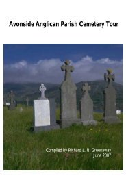 Avonside Parish Cemetery - Christchurch City Libraries