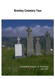 Bromley Cemetery Guide - Christchurch City Libraries