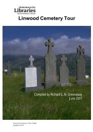 Linwood Cemetery Tour Guide - Christchurch City Libraries