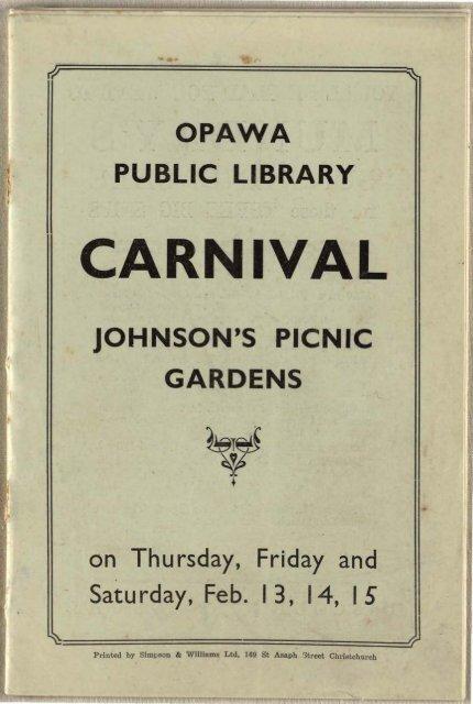 Opawa Public Library carnival - Christchurch City Libraries