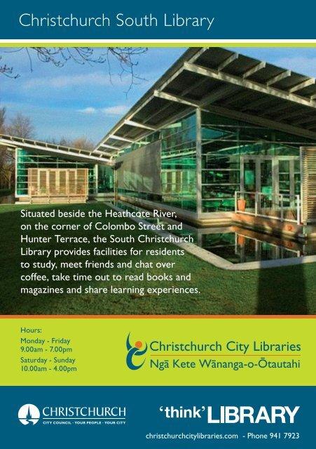 Christchurch South Library - Christchurch City Libraries