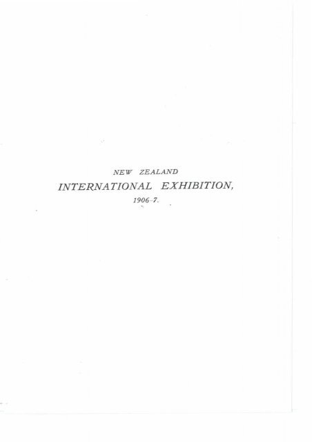 Official record of the New Zealand International Exhibition of Arts ...