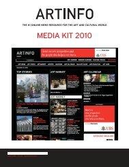 MEDIA KIT 2010 - Artinfo