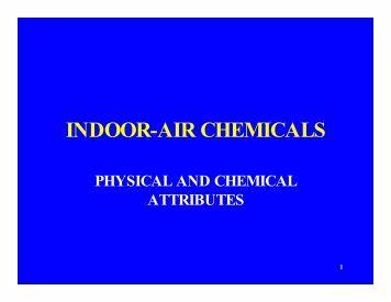 INDOOR-AIR CHEMICALS - CLU-IN