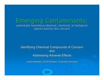 Emerging Contaminants: Potentially Hazardous Physical ... - CLU-IN