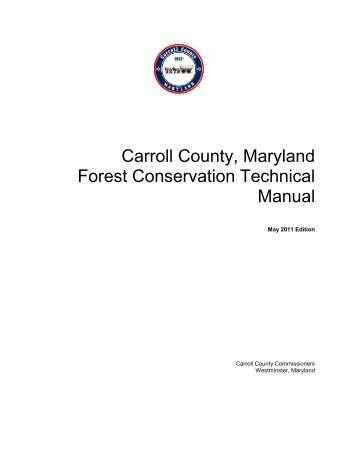 Appendix A - Carroll County Government