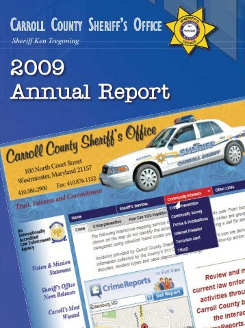 2009 Annual Report - Carroll County Government