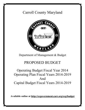 View Entire Document - Carroll County Government