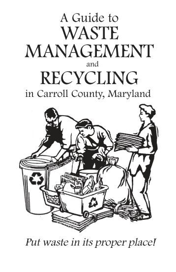 WASTE MANAGEMENT RECYCLING - Carroll County Government