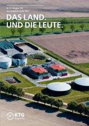KtG Biogas aG - Börsen Hamburg-Hannover