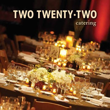 View Catering Menus - Country Music Hall of Fame and Museum
