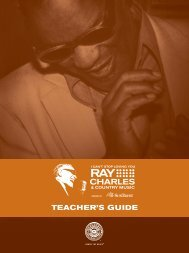 Teacher's Guide - Country Music Hall of Fame and Museum